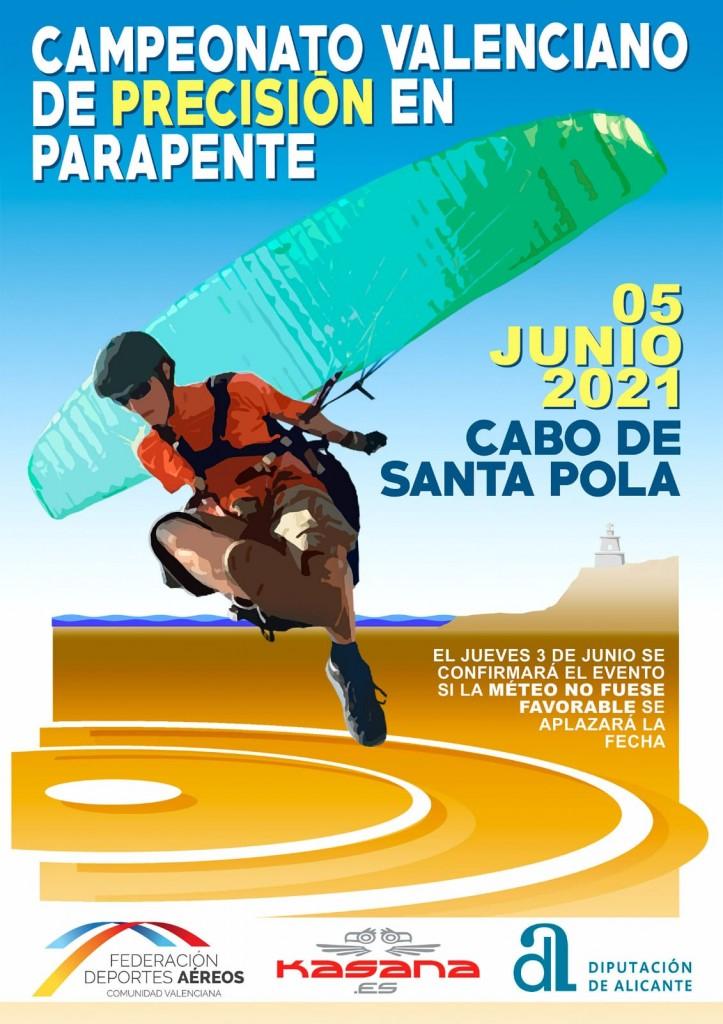 Campeonato Valenciano de precisión en Parapente 2021