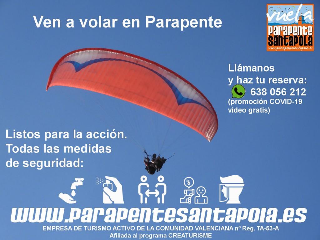 Parapente Santa Pola - Alicante