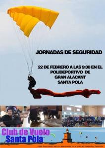 Jornadas de seguridad y Paracaidas